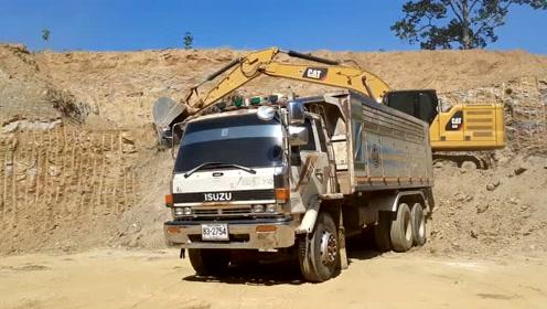 驱动CAT320 NG,全方位,22吨,重力,挖掘机,EP.7563