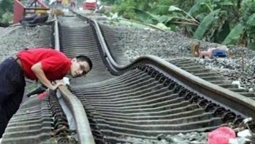 国外扭曲泡面铁轨,火车开过像喝醉一样,为何这样铁路还能用?