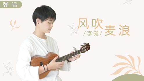 风吹麦浪-李健 尤克里里吉他弹唱cover