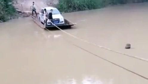 小车过河了啊