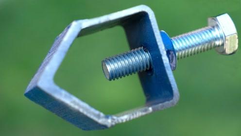 焊接铁具的时候容易弯曲怎么办 试试这个固定器