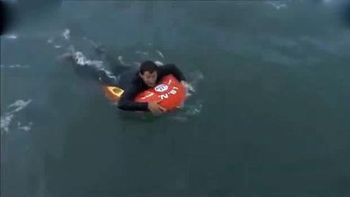 现在溺水救人都不用下水了,可以遥控救人,速度超快