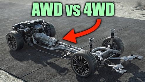 AWD和4WD的区别在哪里?看完才知道SUV和越野差的有多远!