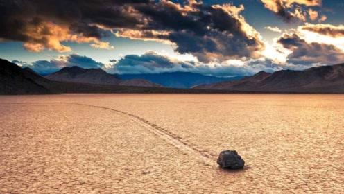 """美国一死亡谷里的石头会""""走路"""" 科学家解开未解之谜"""