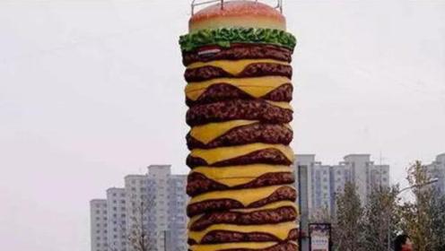 世界上最大的汉堡,到底是啥味道?尝一口后简直绝了!