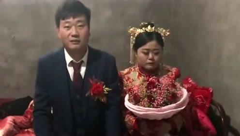 新郎家条件不太好,婚房都没装饰一下,新娘感觉嫁过来有些委屈来了!