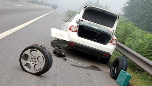 高速车速120码突发爆胎怎么办?老司机:记住这三点,做好能够保命!