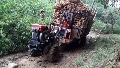 看完这视频,我对中国产柴油机竖起了大姆指,这动力永远是个迷