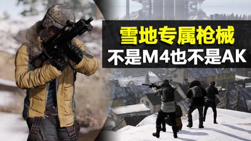 绝地求生:雪地专属枪械,稳定还不依赖配件,不是M416也不是AK