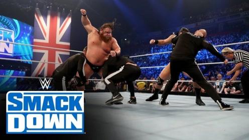 SD1055期: NXT全英阵容偷袭重力机 擂台瞬间挤满选手变混战