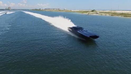 """国外推出""""两栖跑车"""",马力是布加迪的2倍,开进水里才知道实力"""