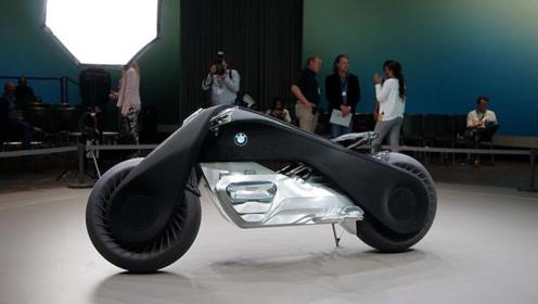 宝马数亿打造智能摩托车,怎么撞都不会倒,还能人车对话!