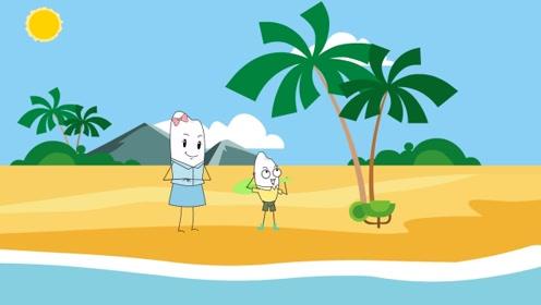 为什么椰子树没有分枝,而且叶子都集中生长在茎干的顶端?