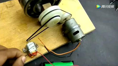 学生发明的发电机,五分钟就能把手机电池充满,不用带充电宝了