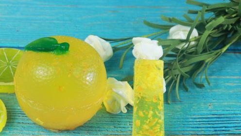橘子秒变手工皂,简单又实用,三分钟视频教会你