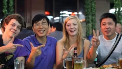 美国姑娘第一次到中国,感叹:难道中国的晚上是能够出去的吗?