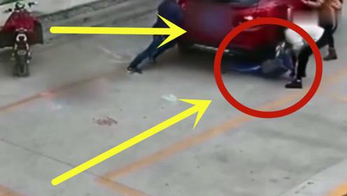 """女司机故意""""谋杀"""",回看监控,6岁孩子惨死路边!"""