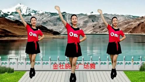 入门16步广场舞《最真的梦》一遍就能学会,没基础也能跳