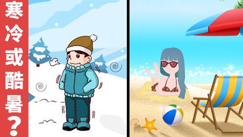 脑力测试:严寒和酷暑,你会怎么选择?为什么?