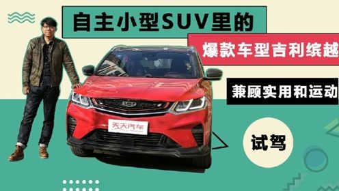 """小型SUV""""爆款""""车型吉利缤越,兼顾实用和运动"""