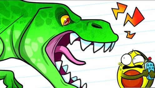 男孩意外穿越到恐龙时代,差点被吃掉,背后始作俑者竟是女友?