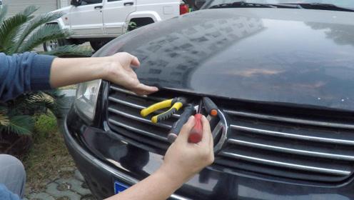 汽车保养盲区之一,引擎盖突然打不开怎么办?教你自己动手打开它
