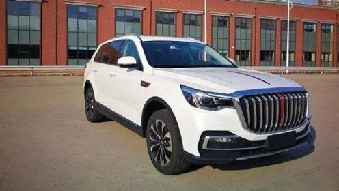 红旗HS7豪华SUV,国产骄傲,起售价35万,跟奥迪Q7说拜拜
