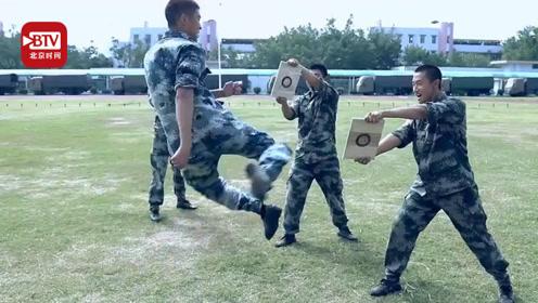 驻港部队来了一群功夫兵 这些硬核新兵又帅又能打!