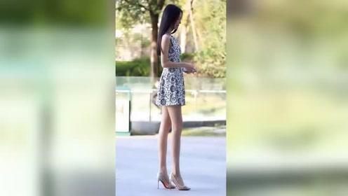 在街上遇到漂亮姑娘的时候,男生第一看会看哪里呢?