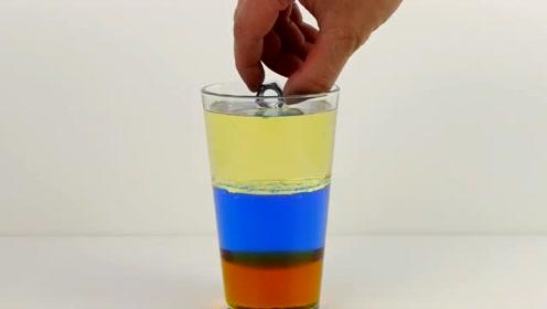 科学实验:一杯液体的密度原理