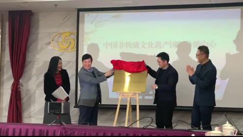 中国非物质文化遗产传播中心今日正式成立!