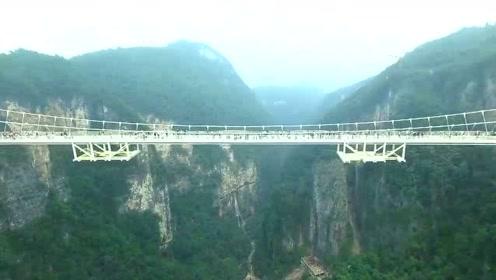 最长最高的玻璃桥,你无法想象它是多么有趣