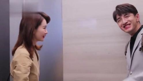 金瀚和戚薇刚拍完吻戏,被问感觉怎么样,他的回答太大胆