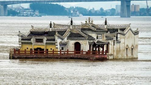"""中国最有后后台""""钉子户"""",霸占长江江心700年,不拆反保护!"""