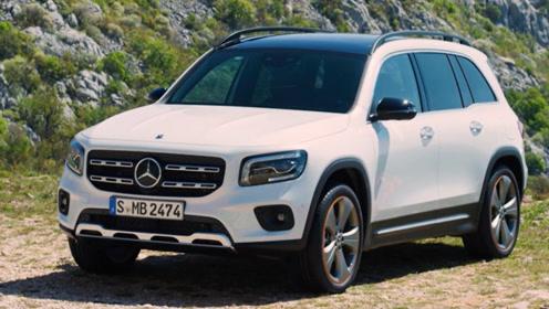 全新奔驰GLB即将国内上市,车长4米6,可选7座版,预计售价28万起