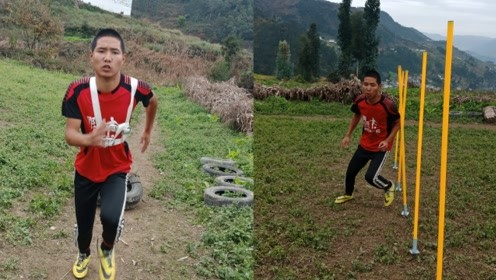 17岁农村娃休学回家把猪草地改建为球场,誓要踢好足球为国争光