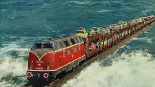 广州到海南的火车没有铁轨,到底是怎么过海的?看完大开眼界