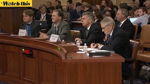 美国众议院弹劾听证会共和党提问环节:拜登作为副总统前后6次出访乌克兰