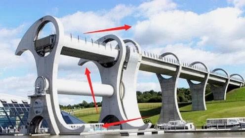 """世界""""最牛""""旋转吊桥,高度35米过桥全靠甩,每年吸引百万游客"""