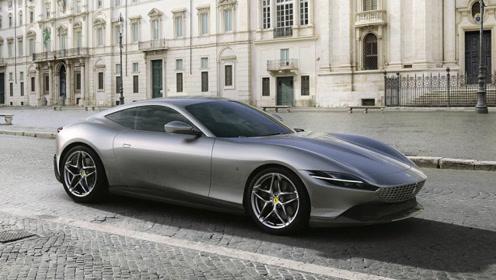 法拉利Roma 2+硬顶GT跑车发布 采用全新设计语言