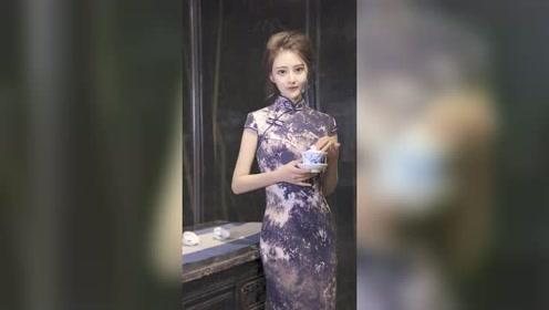 旗袍所能带来的魅力,从来不是因为华丽的外观,而是在于谁能驾驭住,对吗?