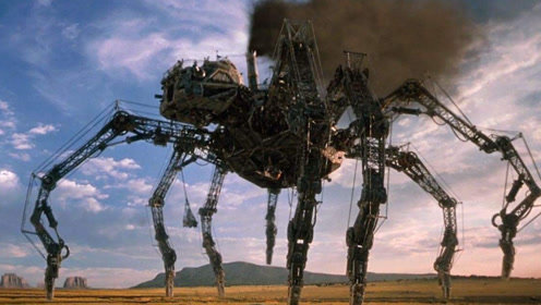 威尔史密斯主演的科幻片,科学家造出巨型蜘蛛,轻松毁掉一个小镇