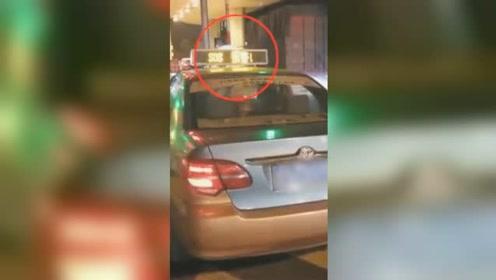 出租车高速打求救信号 民警紧急拦截司机却一脸茫然