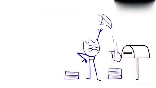 创意动漫搞笑铅笔动画,铅笔人好贪心,后果不可描述