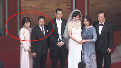 黑泽良平父母喜气登台迎娶儿媳林志玲 一家人男帅女美
