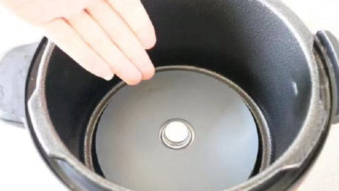 电饭锅这里不清洗,等于吃细菌,别不在意,学会了干净又卫生