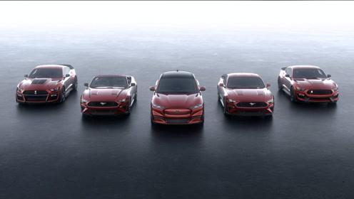 3.5秒破百!福特野马纯电性能SUV Mach-E发布