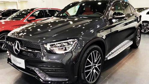 奔驰新款GLC轿跑到店实拍 11月22日上市 或48万起售