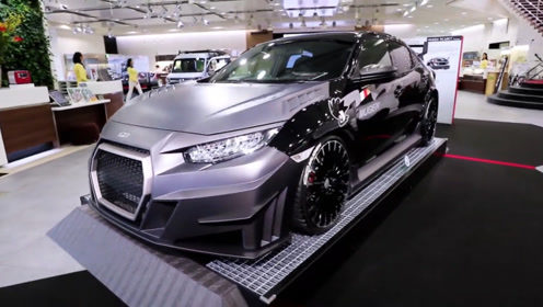 老外改装最贵思域,碳纤维车身极速300,120万你愿意买吗?