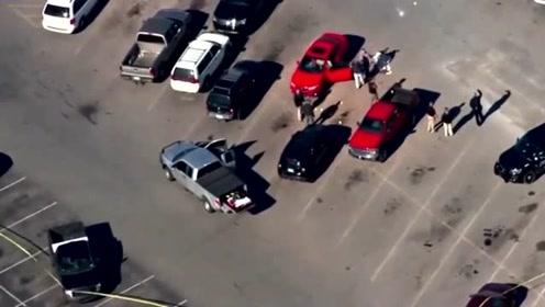 男子在沃尔玛停车场杀死妻子及其新男友后自杀